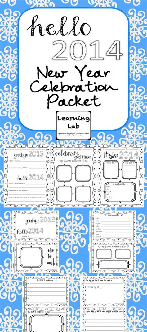 new year packet template the world s catalog of ideas