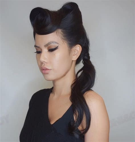 42 pin up hairstyles that scream quot retro chic quot tutorials included