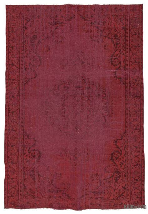 dyed rugs k0025406 dyed turkish vintage rug