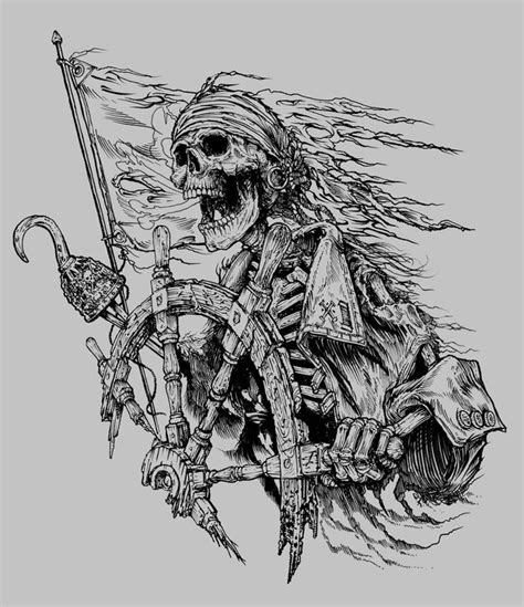 pirate skeleton sitting tattoo design 25 best ideas about pirate on pirate