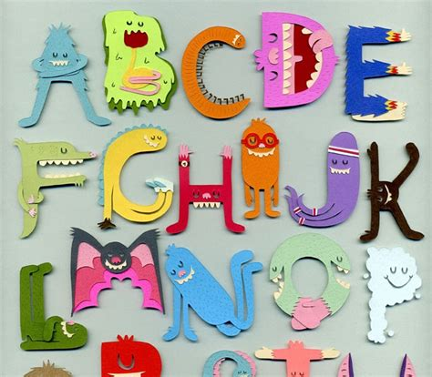 Jared Andrew Schorr: Wallpaper Wednesday - Monster Alphabet P Alphabet Wallpaper