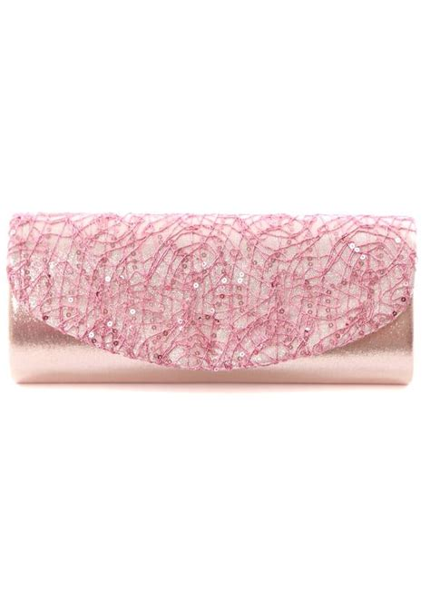 light pink clutch purse light pink evening bag clutch bag in metallic with