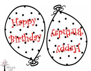 birthday balloon cut out template free coloring pages on
