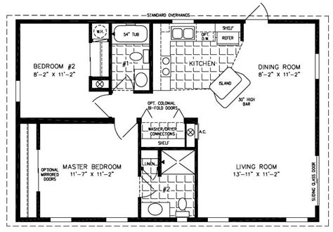 mobile home blueprints 3 bedrooms single wide 71 of