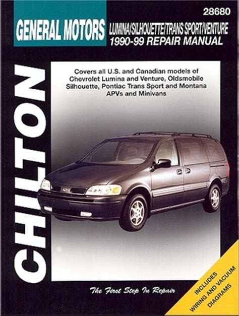 small engine service manuals 1997 pontiac trans sport security system lumina silhouette trans sport montana repair manual 1990 1999