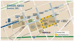 Boston Marathon Finish Line Map by Ri Runners Chaos Followed Explosion At Boston Marathon