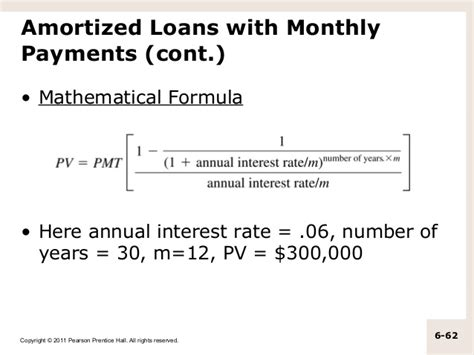 formula for mortgage amortization m06 titman 2544318 11 fin mgt c06