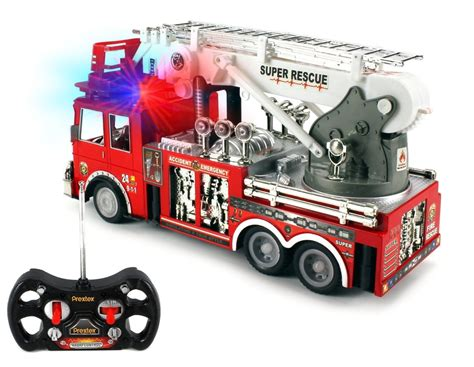 13 rescue r c fire engine truck remote control fire