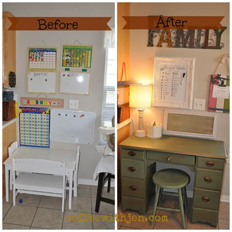 Simple Kitchen Remodel Ideas creating a family command center coffeewithjen