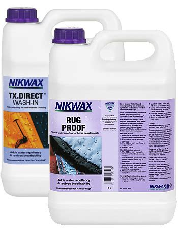 nikwax synthetic rug proof commercial cleaning waterproofing