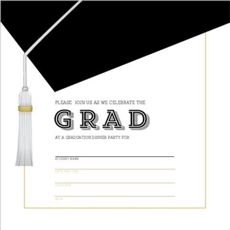 free printable graduation invitations make your own graduation