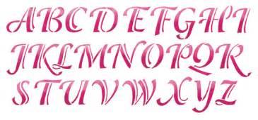 lettering template calligraphy alphabet calligraphy alphabet stencils
