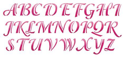 calligraphy alphabet calligraphy alphabet stencils