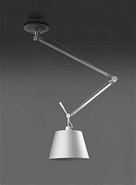 Artemide Tolomeo Off Center Ceiling Mounted Lamp   Stardust