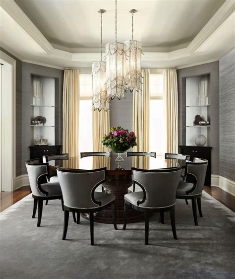 transitional dining room sets chicago elegant dining room sets transitional with glamour