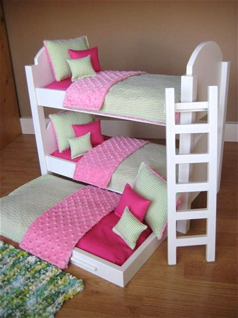 18 Inch Doll Bunk Bed With Trundle Unavailable Listing On Etsy