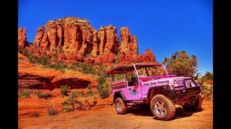 pink jeep tours az pink jeep tour adventure sedona az