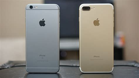 iphone 7 plus vs iphone 6s plus one is similar one is better