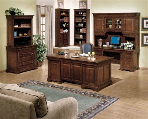 comfortbale nuance for luxury home office decor with brown furniture interesting elegant office furniture with