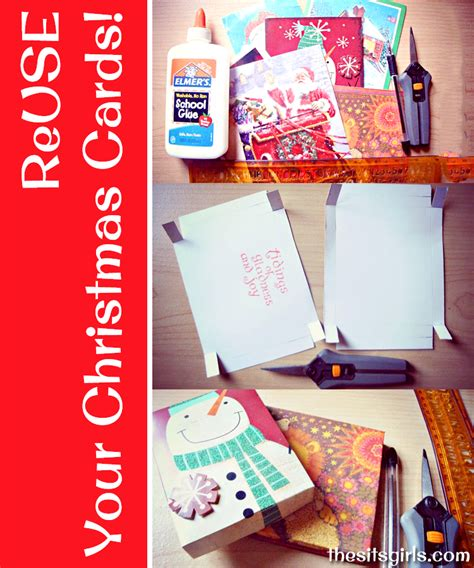 Children S Museum Gift Card - how to make a homemade box from christmas cards