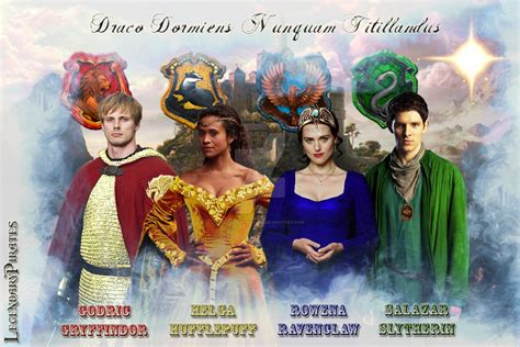 founders of hogwarts four founders by legendarypirates on deviantart