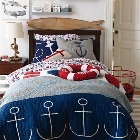 nautical bedding set oh buoy bedding