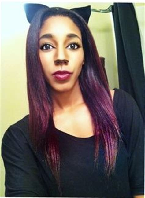 deep velvet violet hair dye african america 1000 images about burgundy hair on pinterest wild