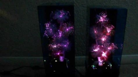 Fiber Optic Flower L by 2 Fiber Optic Color Changing Flowers Ls Boxs
