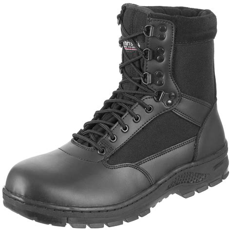 security boots surplus tactical mens security footwear leather