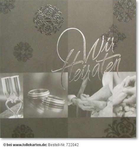 Hochzeitseinladungen Preiswert by Wir Heiraten Hochzeitskarten