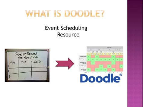 doodle schedule an event or make a choice ppt doodle powerpoint presentation id 2872976