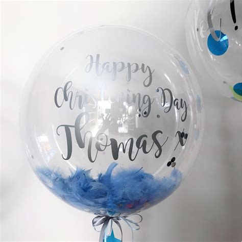 Alised Feather Bubble Balloons Send A  Ee  Gift Ee   Balloon