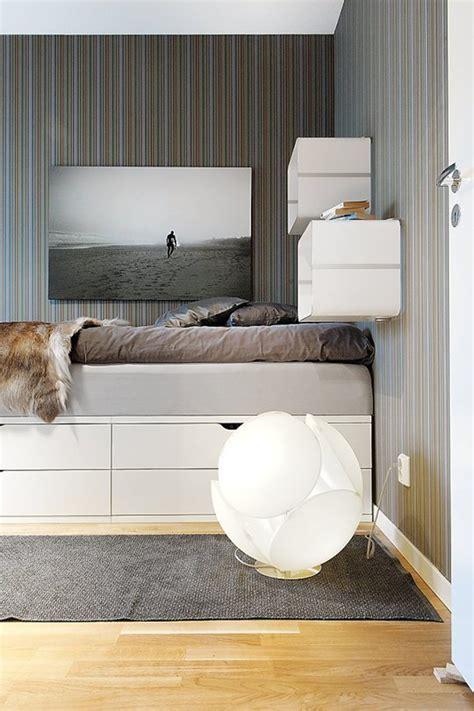 Minimalist Bed minimalist bed shelving cabinet