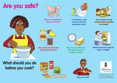 food safety poster  foodafactoflife teaching resources