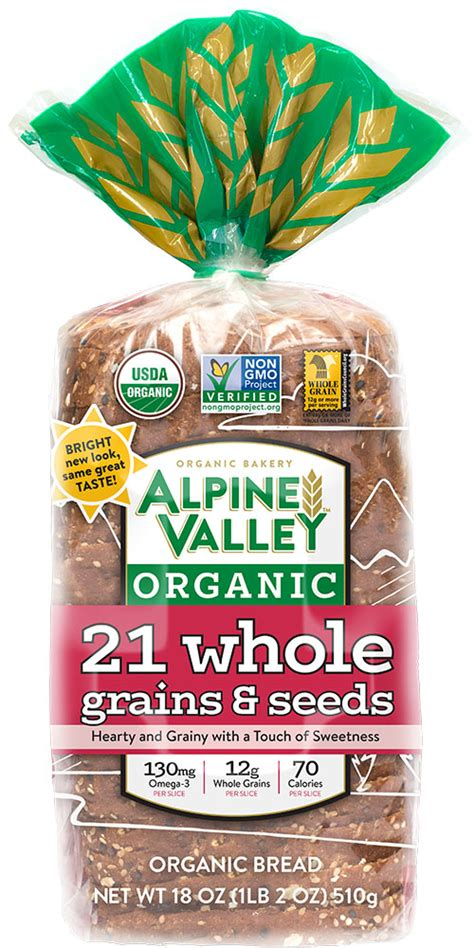21 whole grains bread 21 whole grains seeds alpine valley bakery