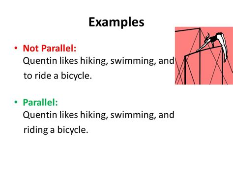 what is parallel structure ppt