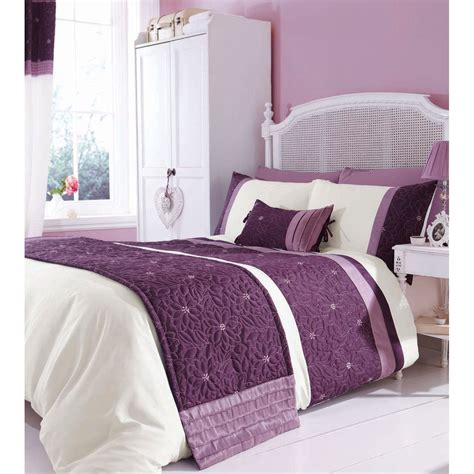 mauve comforter sets catherine lansfield lois mauve bedding set next day