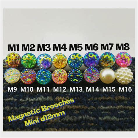 Magnet Jilbab grosir pin bross magnet magnetic brooches jilbab