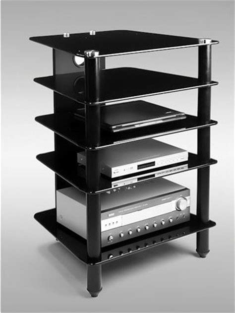 The Rack Electronics by Avm 5 Shelf Audio Rack Modern Home Electronics