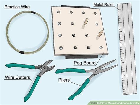 How To Make Handmade Jewelry - how to make handmade jewelry with pictures wikihow