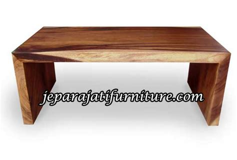 Meja Kayu Panjang Lesehan meja lesehan trembesi minimalis jepara jati furniture