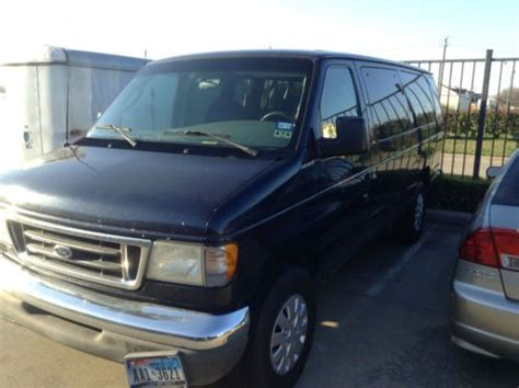 how to fix cars 2003 ford e series user handbook buy used 2003 ford hard to find heavy duty15 passenger van new tires needs engine repair in
