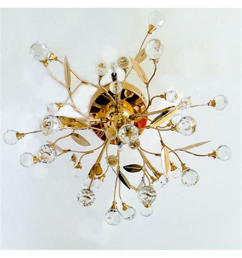 deckenleuchte gold kristall gutenstein 6 flammig - Deckenleuchte Gold