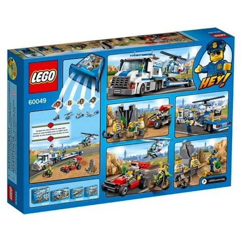 Lego 60049 City Helicopter Transporter lego city helicopter transporter 60049 free shipping