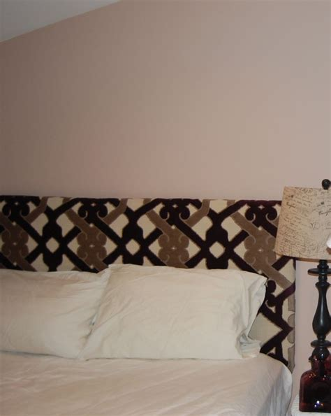 cover headboard with fabric diy diy une t 234 te de lit making a headboard for her guest