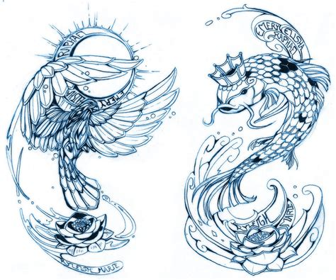 tattoo sketch by 121642 on deviantart