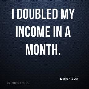 i tripled my salary in lewis quotes quotehd