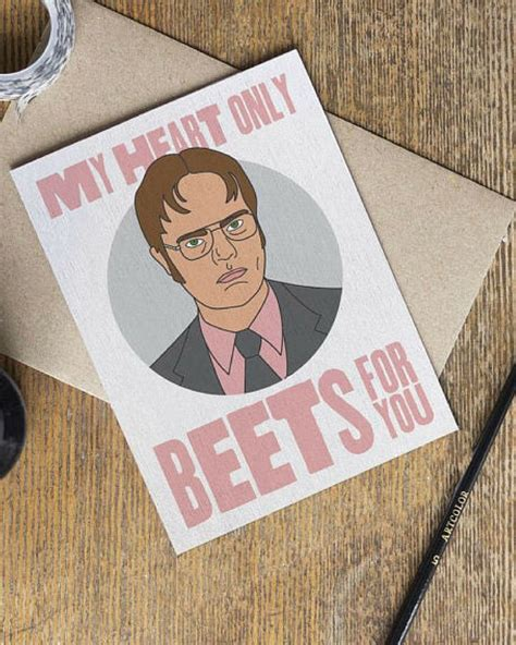 office card tv show love cards dwight schrute