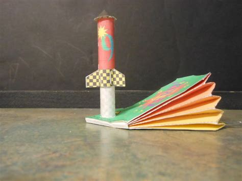 Make Paper Rocket - build a paper rocket and paper launcher 27 steps with