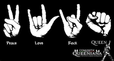 imagenes rock love peace love rock queen queen photo 32443714 fanpop